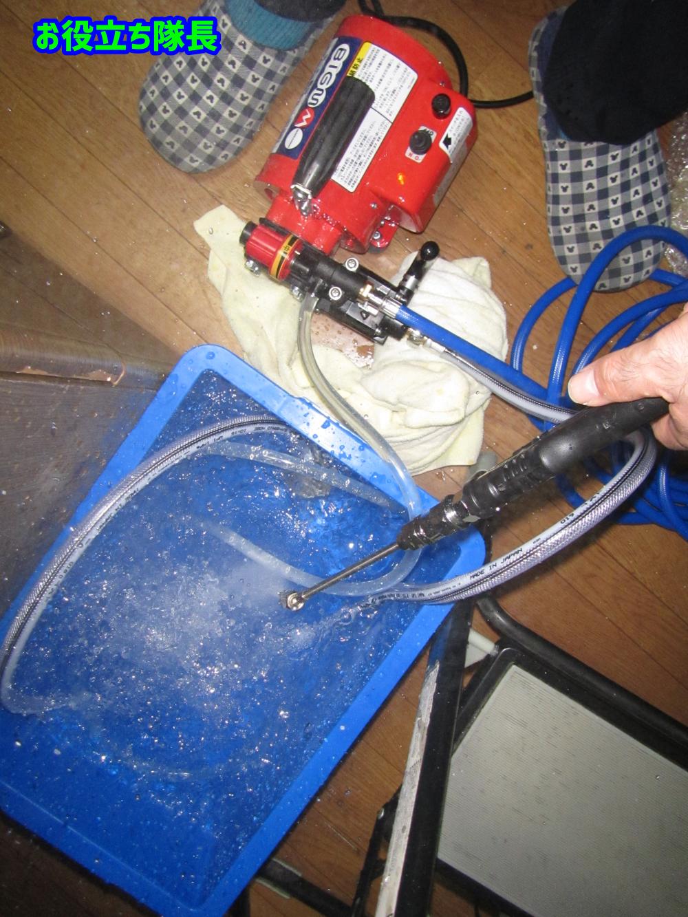 高圧洗浄機の威力